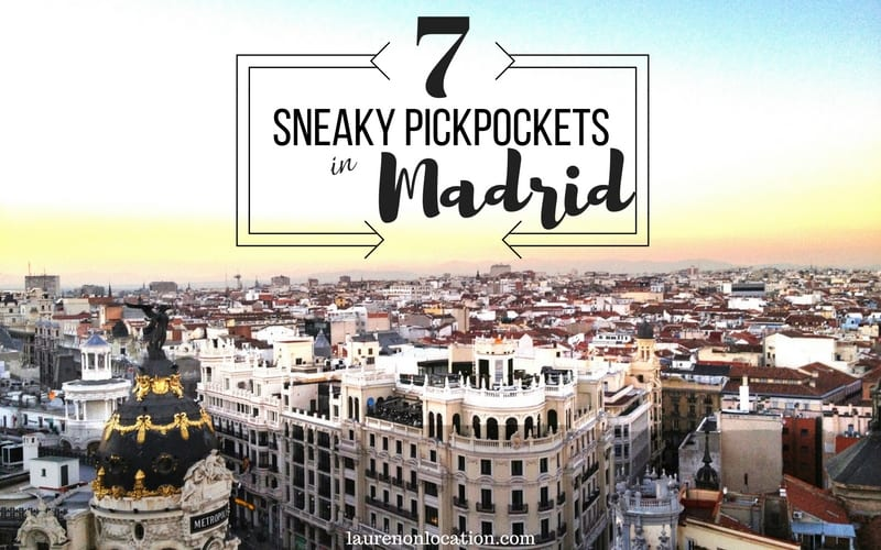 Sneaky Pickpockets Madrid