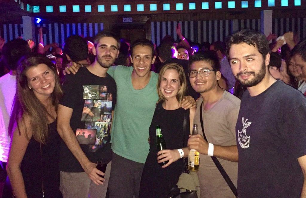 New Friends in Santiago!