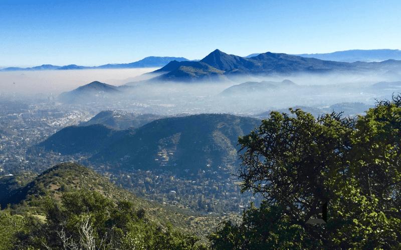 Day Hikes in Santiago, Cerro Pochoco
