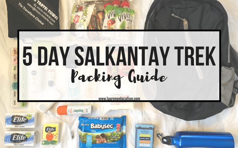 5 DAY SALKANTAKY TREK