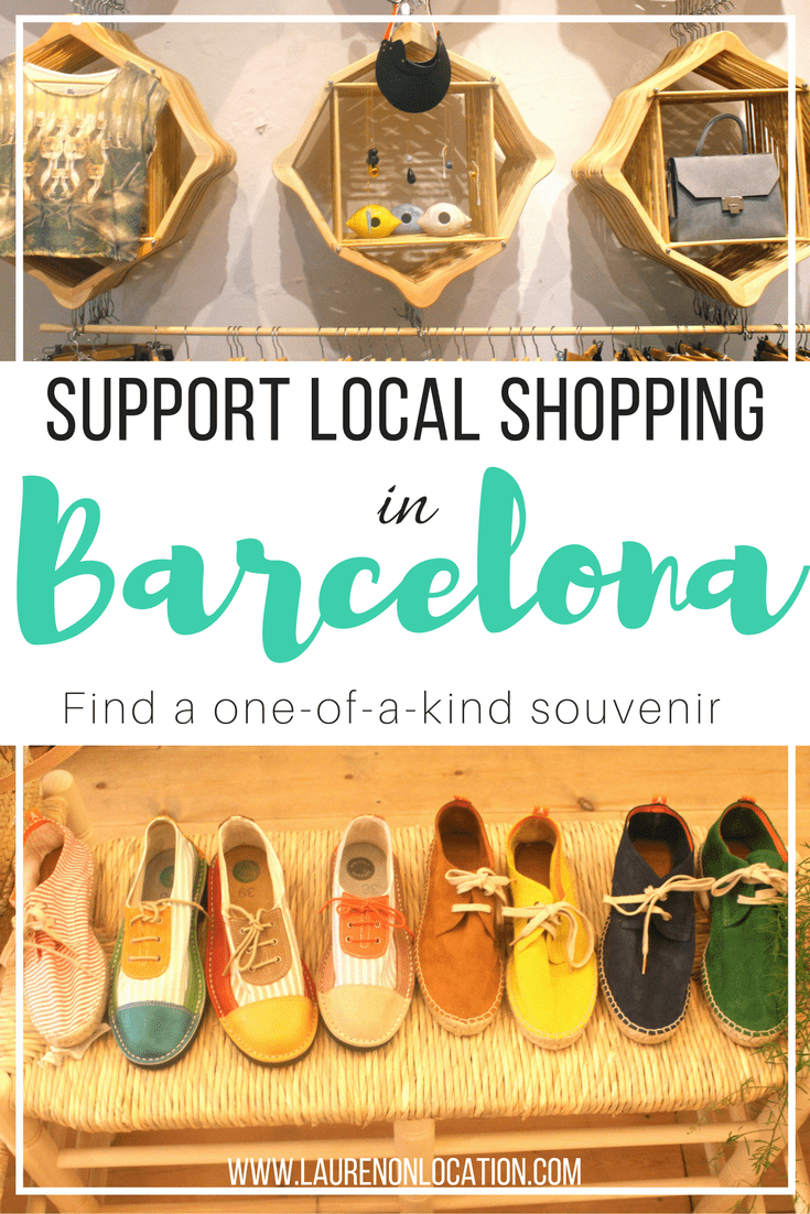 #Shopsmall and support local vendors and designers in #Barcelona, Spain!