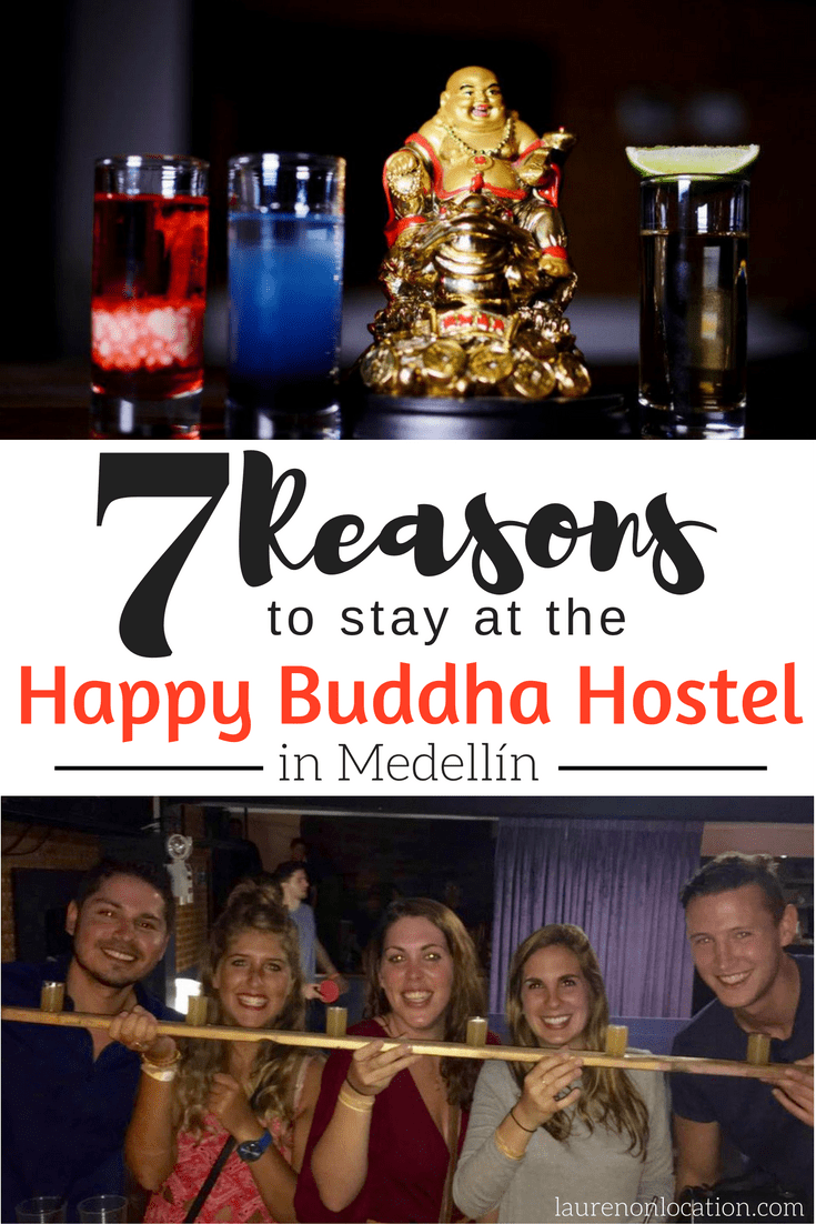 7 Reasons to book your stay at the Happy Buddha Hostel in #Medellín, Colombia!