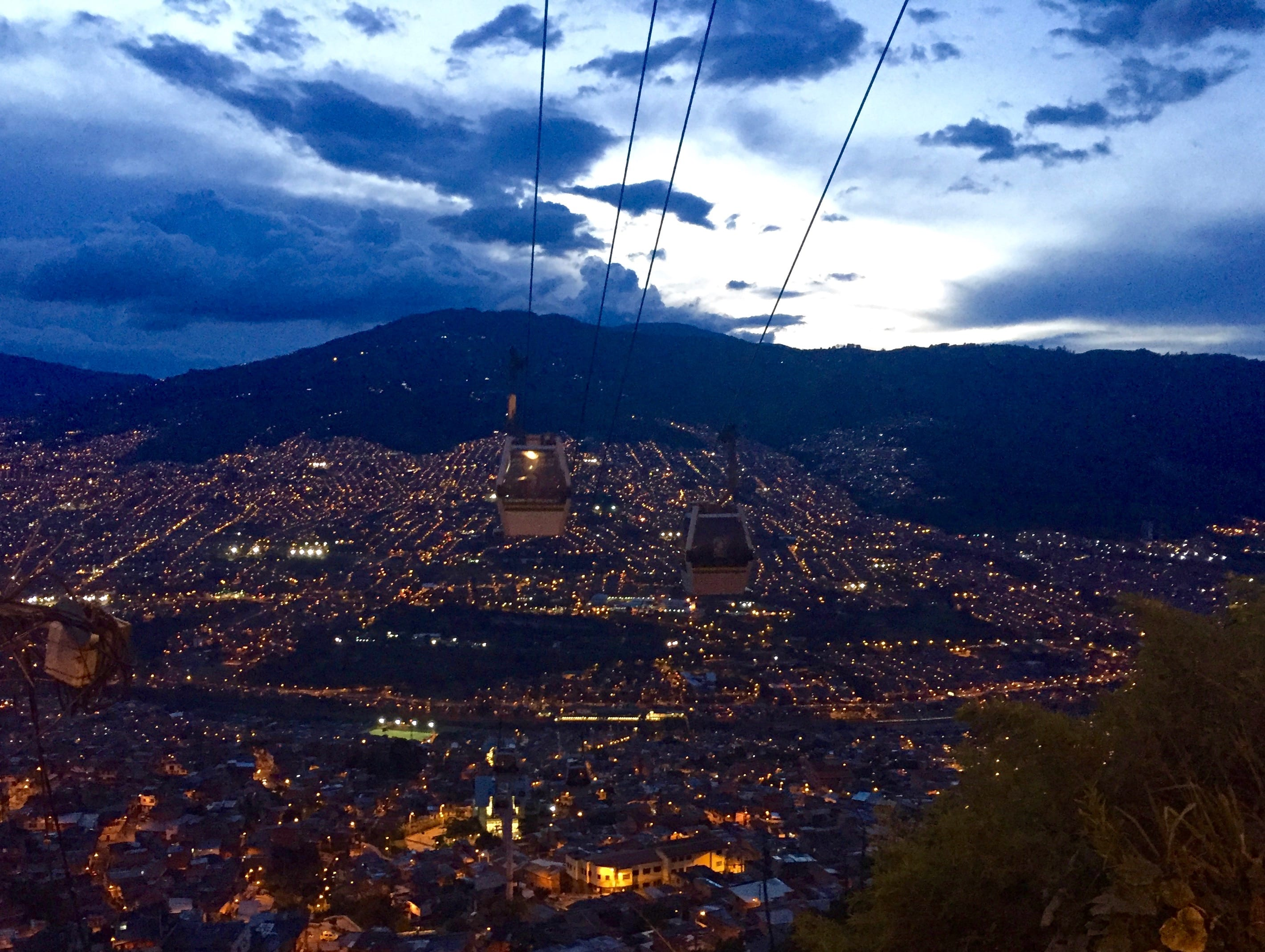 A must on your Medellín itinerary- take a ride on the Santo Domingo Cable Car.