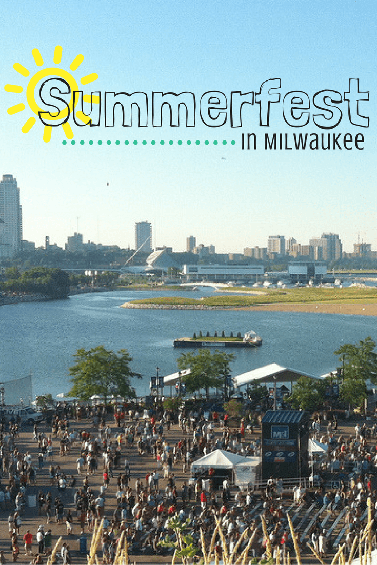 A guide to Summerfest in Milwaukee, The World's Largest Music Festival!