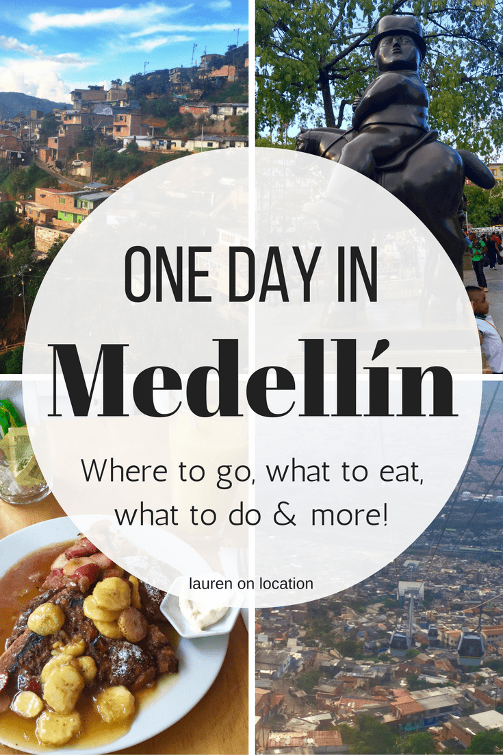 A perfect one day itinerary for Medellín Colombia, including where to eat, what to do and more! Wondering what to do in Medellín, look no further!