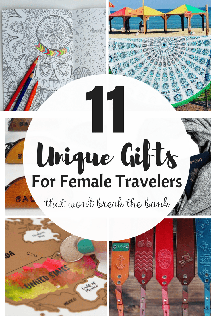 11 Unique and handmade gift options that are sure to impress the female traveler! #Etsy