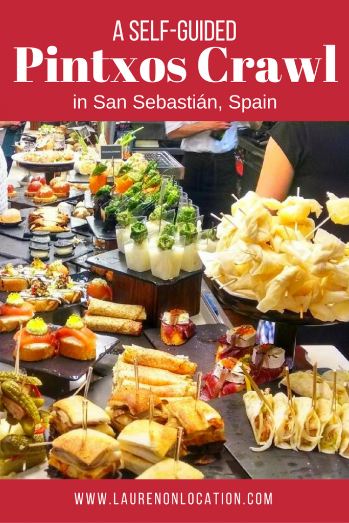 A self-guided Pintxos crawl in Spain's foodie capital- San Sebastián!