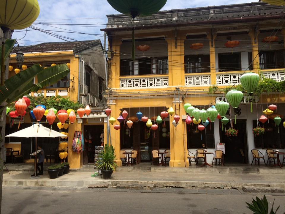 The streets of Hoi An in Vietnam.