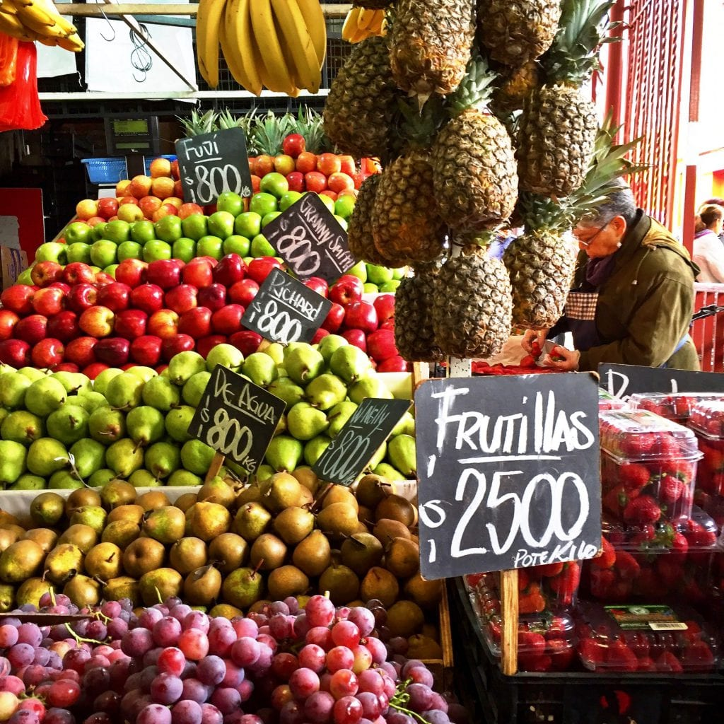 Where to buy cheap and organic produce in Santiago, Chile
