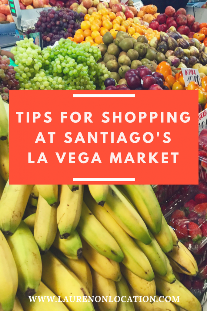 A guide for shopping at Mercado La Vega, or La Vega Market in Santiago, Chile.