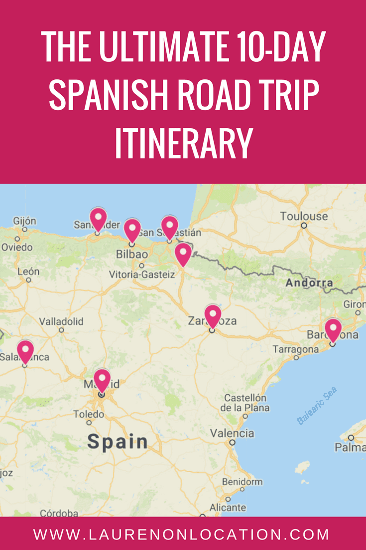 The Ultimate 10 Day Spanish Road Trip Itinerary. 5 amazing cities in Spain, in only 10 days- starting in Madrid!
