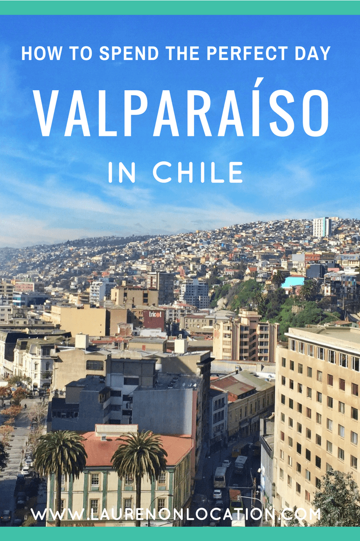 The perfect one day itinerary in Valparaíso, Chile. How to spend a day trip from Santiago in the colorful city of Valpo.