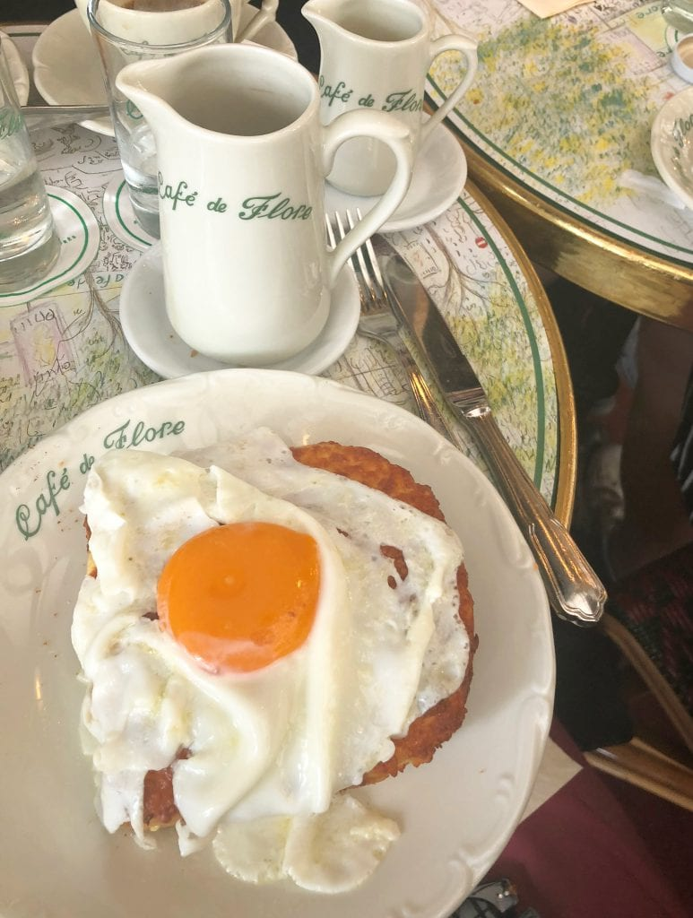 Cafe de Flor, in Paris