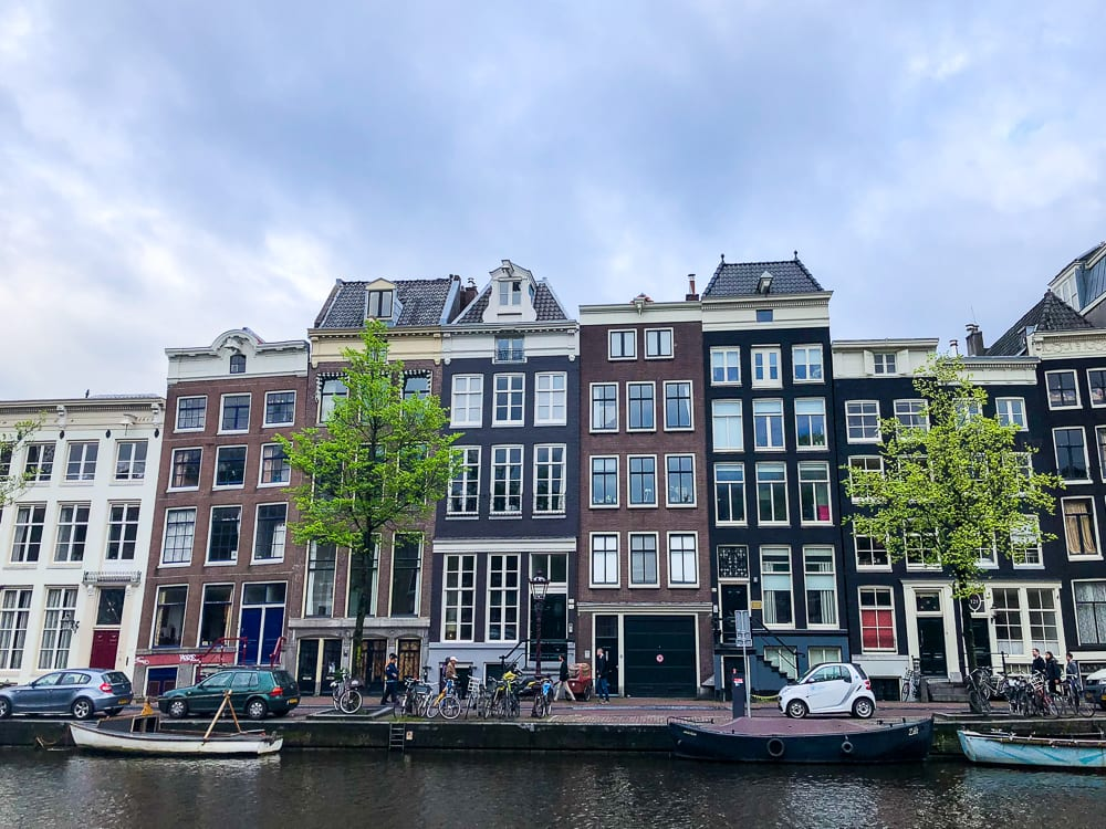 Pretty Houses in Amsterdam