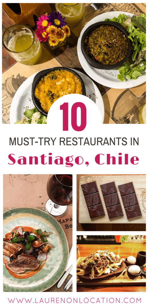 10 Best Restaurants in Santiago, Chile. Where to eat if you want to get a taste of local Chilean flavors.