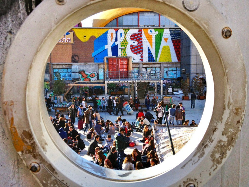 La Latina on a Sunday in Madrid