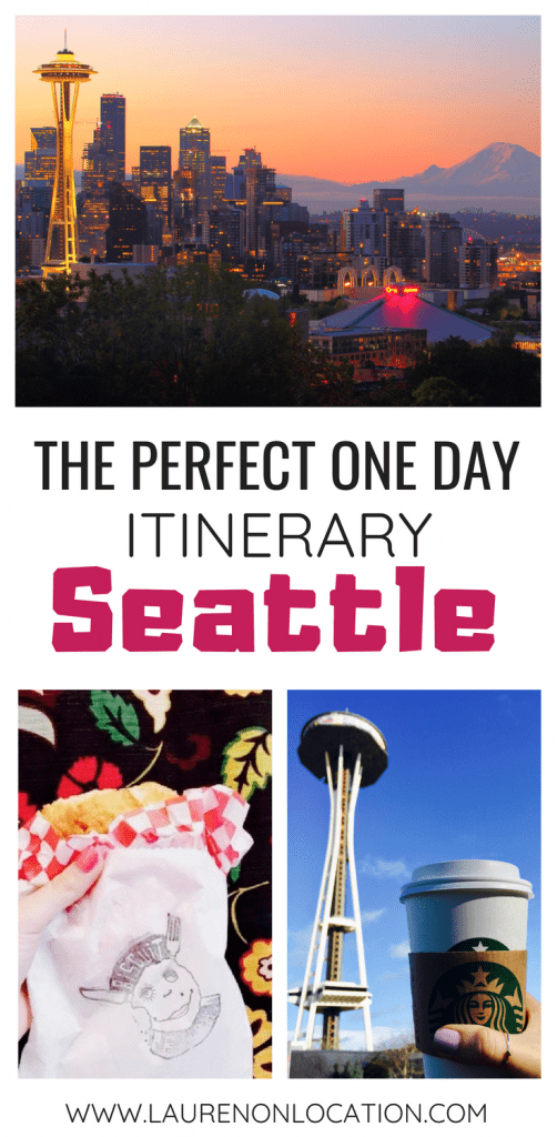 How to spend one day in Seattle, Washington. Where to eat, what to see and what to do.