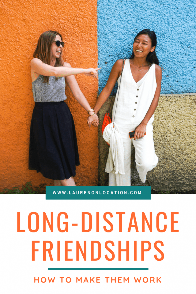 How to stay in touch with long-distance friends. Tips and tricks to making long-distance friendships work and be closer than ever!