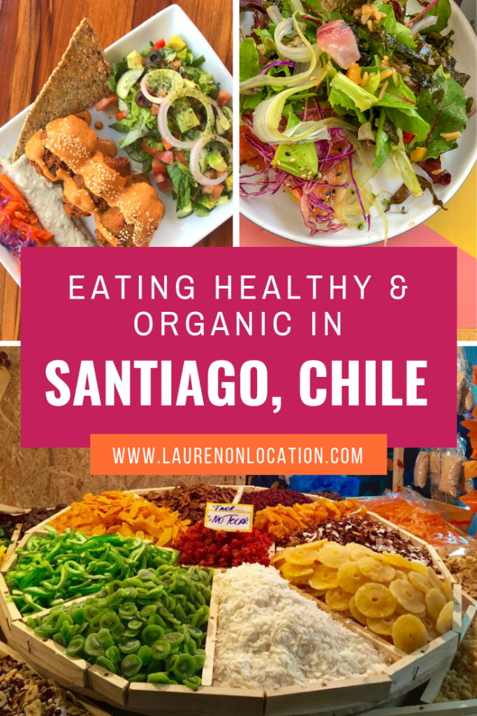 Where to eat fresh, healthy and organic in Santiago, Chile. Eating healthy in Santiago doesn't have to be hard, you just have to know where to look!