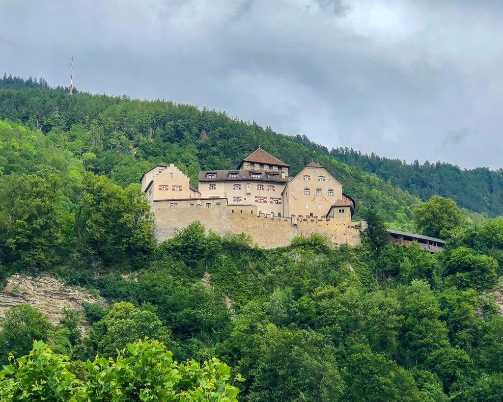 Schloss Vaduz AKA Vaduz Castle in Liechtenstein