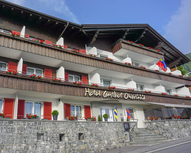 Liechtenstein Hotels: Hotel Oberland in Triesenberg