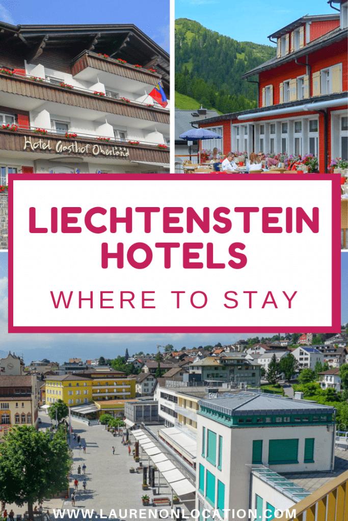 Liechtenstein Hotels- Where to Stay in Liechtenstein