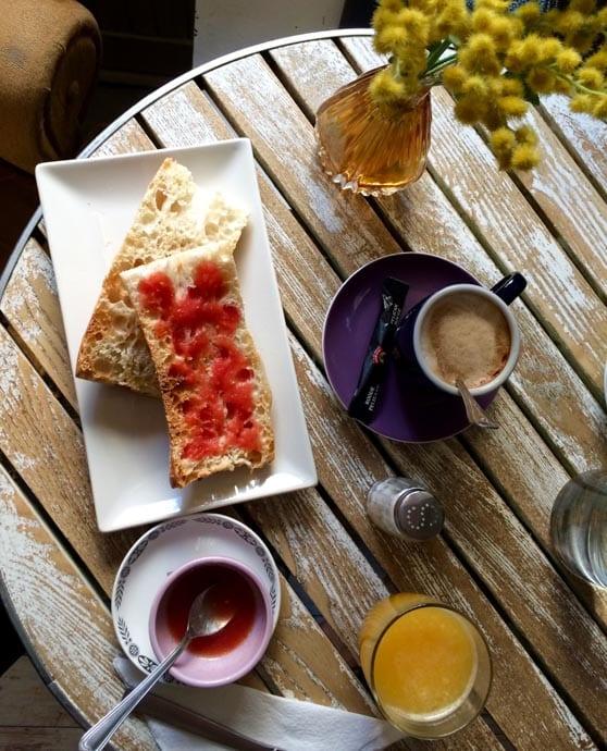 Café de la Luz is my go-to café in Madrid's Malasaña.