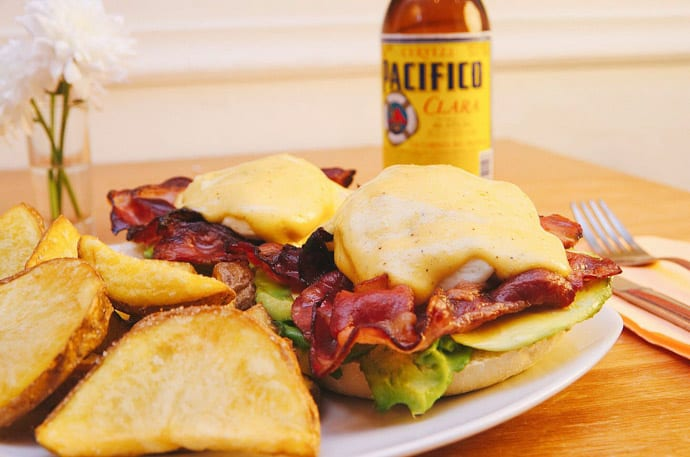 La Carmencita is a great place to meet with friends and indulge in one of their famous eggs benedicts.
