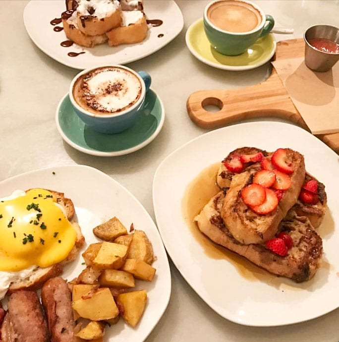 The Toast is an informal American-style café that serves a hearty brunch in Madrid.