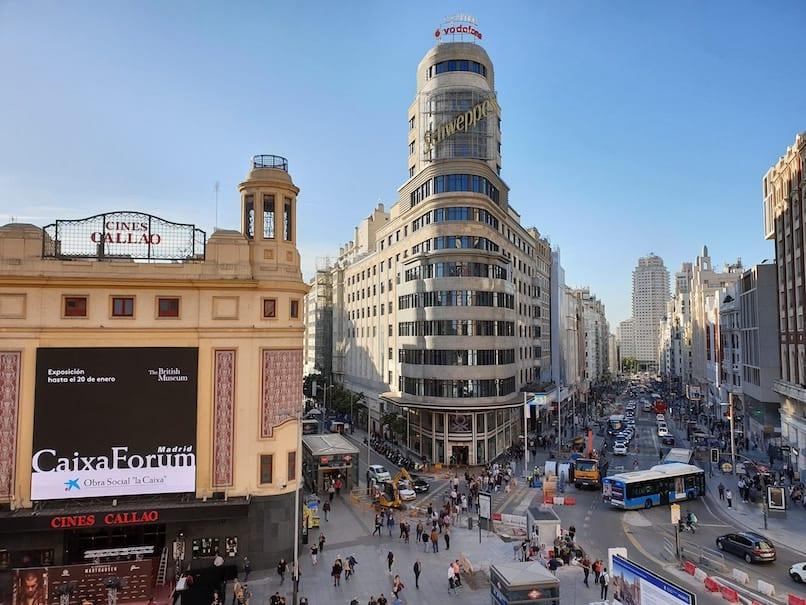 Itinerario para un día en Madrid