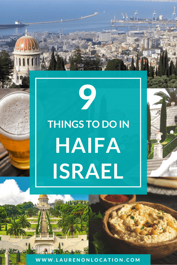 Haifa is a gem of a city in northern Israel, and actually Israel's third largest city! This post is a list of the best things to do in Haifa, as well as some unique and off-the-beaten path activities, that most tourists don't do. If you're looking for a guide to enjoy the most of your time in Haifa, Israel, this post is for you! #haifa #israeltravel #haifaisrael