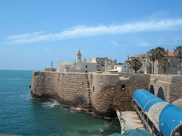 Acre (sounds like Akko) is an ancient city just north
