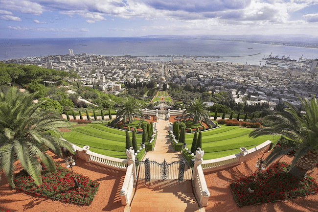 When looking for things to do in Haifa, be sure. to visit the bahai gardens.