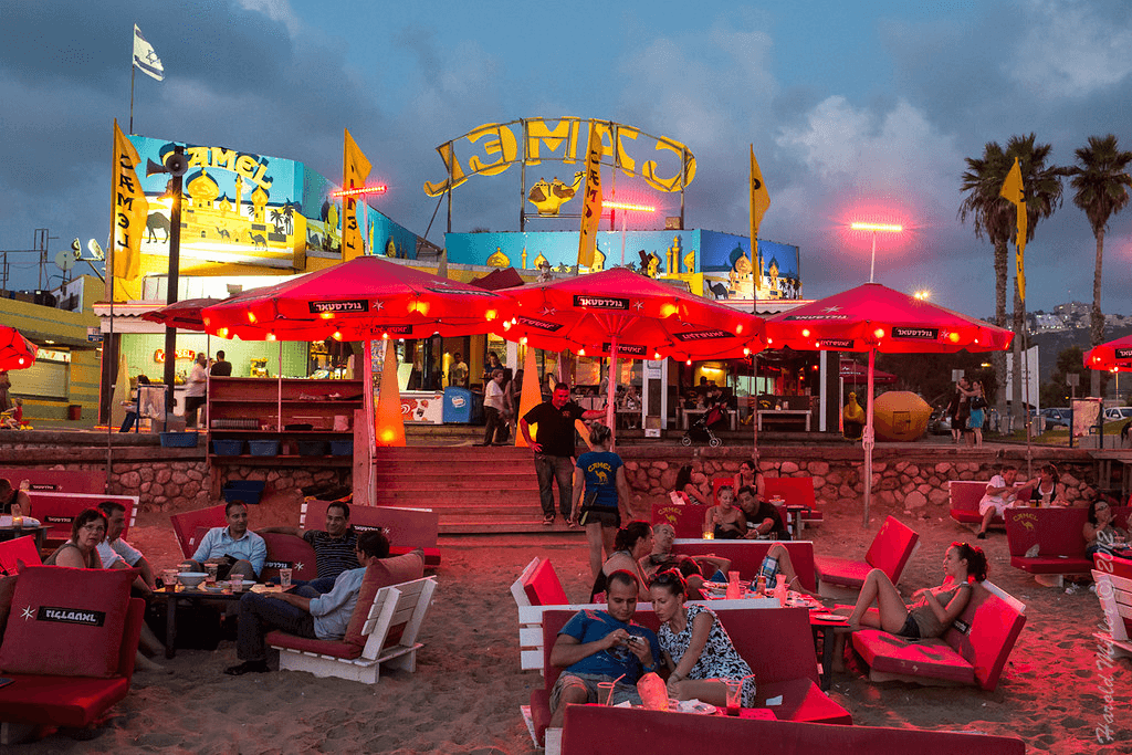 Things to do in Haifa: Go to Carmel Beach